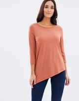 Vero Moda Asymmetrical 3/4 Top