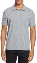 Zachary Prell Mission Microstripe Slim Fit Polo Shirt