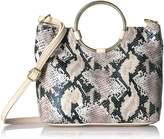 T-Shirt & Jeans Faux Snake Ring Bag Convertible Cross Body