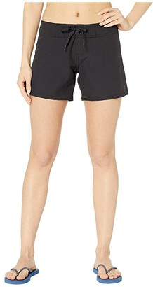 Billabong Sol Searcher 5 Boardshorts (Black Pebble) Women's Swimwear