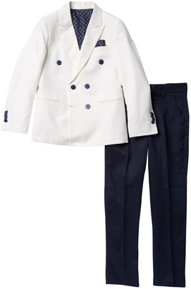 Isaac Mizrahi Jacket & Solid Pant 2-Piece Suit (Toddler, Little Boys & Big Boys)