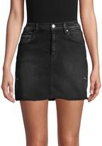 Hudson Jeans Denim Mini Skirt