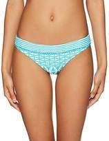 Seafolly Women's Modern Geometry Hipster Bikini Bottom