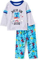 Rashti & Rashti Pete the Cat 'Rock On' Two-Piece Pajama Set - Infant & Toddler