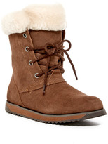Emu Shaw Lo Genuine Sheep Fur Lace-Up Boot