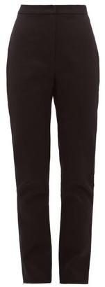 Carl Kapp - Tailored Cotton-sateen Trousers - Black