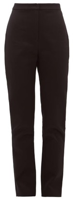 Carl Kapp - Tailored Cotton-sateen Trousers - Womens - Black