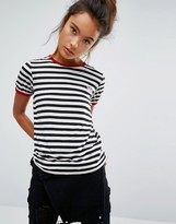 Vans Striped Ringer T-Shirt