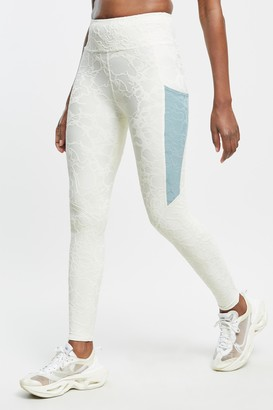 Twenty Montreal Seafoam 3D Activewear High Waist Active