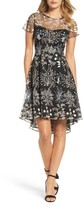 Adrianna Papell Women's Ethereal Fit & Flare Dress