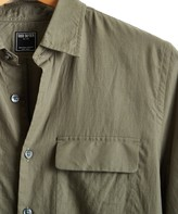 Todd Snyder Lightweight Italian Military Shirt in Sage