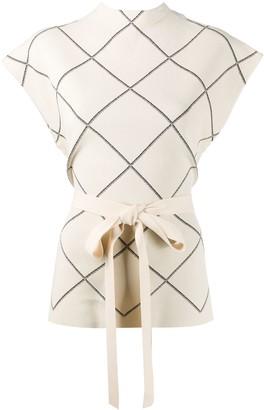 Proenza Schouler Wrap-Tie Top