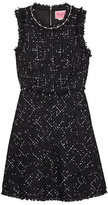 Kate Spade Embellished Tweed Dress