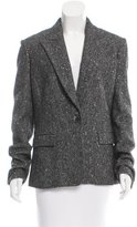 Michael Kors Virgin Wool Metallic Blazer