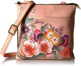 Anuschka Anna by Handpainted Multi-Compartment Crossbody