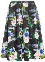 Dorothy Perkins Black Floral Co-Ord Full Skirt