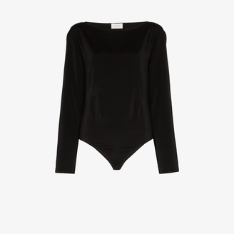 Lemaire Long Sleeve Silk Bodysuit