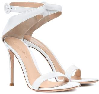Gianvito Rossi Exclusive to mytheresa.com Cross strap leather sandals