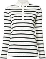 Bogner striped polo shirt - women - Cotton - 34