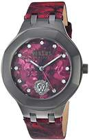 Versus By Versace Men's 'LAGUNA CITY' Quartz Stainless Steel and Leather Casual Watch