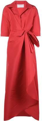 Carolina Herrera knot detail gown