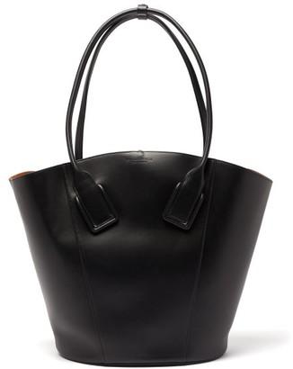 Bottega Veneta Basket Large Leather Tote Bag - Black