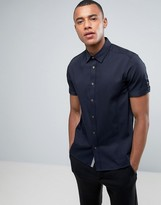 Ted Baker Short Sleeve Shirt In Texture