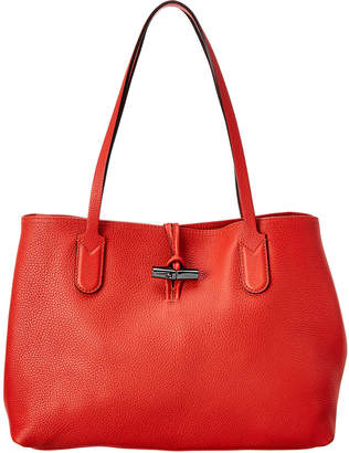 Longchamp Roseau Medium Essential Leather Tote