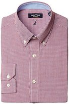 Nautica Men's Gingham Button-Front Shirt