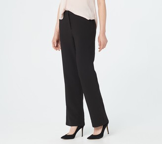 Linea by Louis Dell'Olio Petite Fly Front Pants