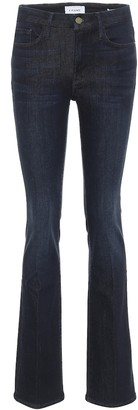 Frame Le Mini Boot high-rise slim jeans