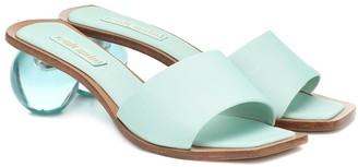 Cult Gaia Tao satin sandals