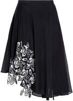 No.21 A-line Lace Panel Skirt
