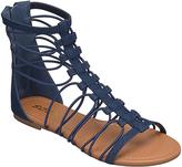 Soda Sunglasses Dark Blue Denim Ombré Gladiator Sandal