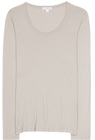 James Perse Extra Long Cotton-blend T-shirt