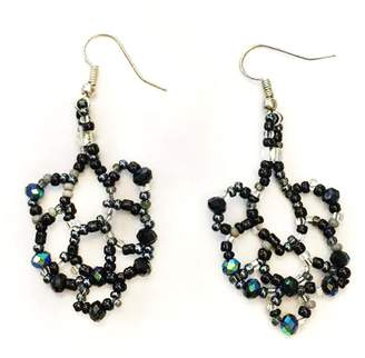 Tu Anh Boutique Goddess Chandelier Earrings