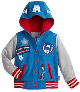 Disney Marvel Captain America Fleece Jacket for Girls
