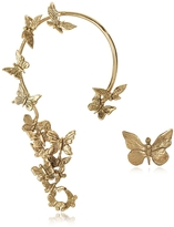 Bernard Delettrez Butterflies Bronze Ear Cuff