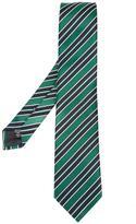 Ermenegildo Zegna diagonal stripe tie - men - Silk - One Size