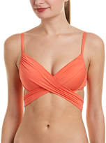 LaBlanca La Blanca Island Wrap Bikini Top