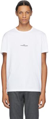Maison Margiela White Mako Cotton T-Shirt