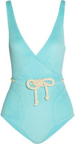 Lisa Marie Fernandez Yasmin cotton-blend terry swimsuit