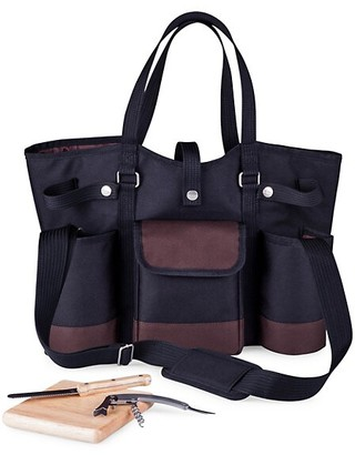 Picnic Time Wine Country 4-Piece Wine & Cheese Picnic Tote