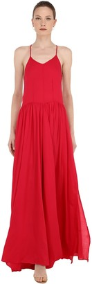 Cc By Camilla Cappelli Sleeveless Viscose Crepe Maxi Dress
