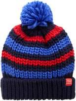 Joules Boys Striped Bobble Hat