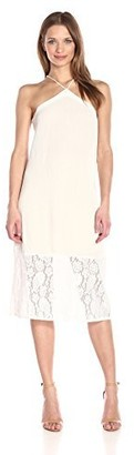 Glamorous Women's Lace Maxi Dress