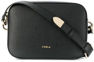 Furla Logo Stamp Shoulder Bag
