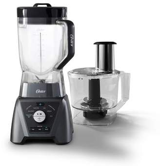 Oster 3-Speed Texture Select Settings Pro Blender with Tritan Jar and Food Processor Attachment - Metallic Gray