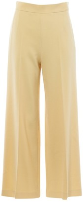 The Row Yellow Wool Trousers