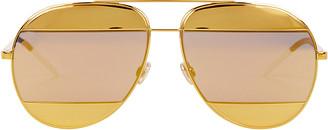 Christian Dior DiorSplit1 Aviator Sunglasses